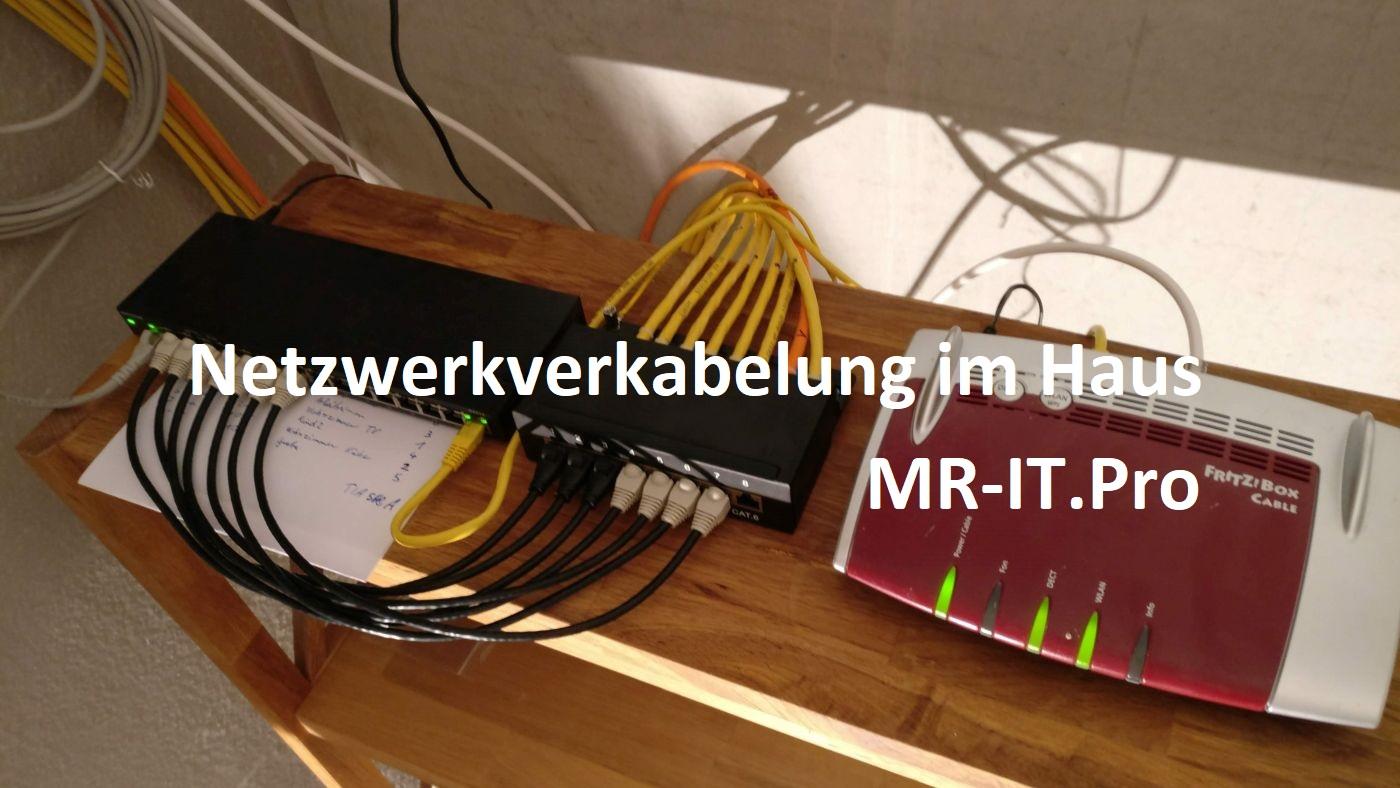 Mr-IT.Pro - Netzwerkverkabelung im Haus